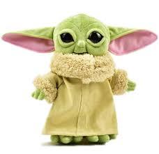Йода плюшевая мягкая игрушка (Мандалорец <b>малыш</b> джедай ...