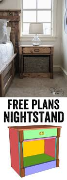 diy nightstands woodworking plans woodworking plans my love these nightstands these girls make me want to grab my tool belt and start building plans and tutorial at