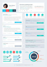 resume flat ui design cv designs infographic resume flat ui · resume dashboardresume webgood