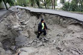 Image result for christchurch roads after earthquake