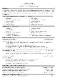 bookkeeping resume example bookkeeper resume examples