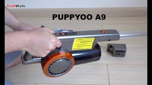 <b>PUPPYOO A9</b> Cordless Vacuum Cleaner Unboxing & Testing ...