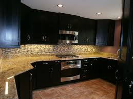 gel stain kitchen cabinets: hand crafted maple kitchen cabinets espresso stain solid