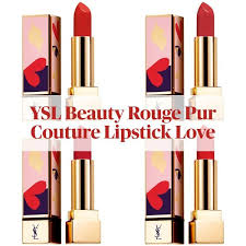 New! <b>Yves Saint Laurent Rouge Pur Couture</b> Lipstick Love ...
