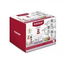 <b>Набор кастрюль 3 предмета</b> Attribute Classic ASS725 - купить в ...