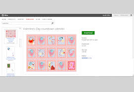 valentine s day templates for ms office