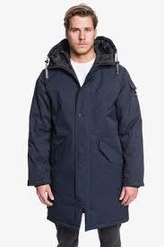 Куртки мужские демисезонные удлиненные <b>QUIKSILVER</b>, купить ...