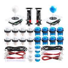 Online Shop 2-Player <b>DIY Arcade Joystick Kits</b> With 20 LED <b>Arcade</b> ...