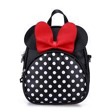 Disney <b>Mickey mouse Cartoon Women's</b> Mini pu Backpack girl ...