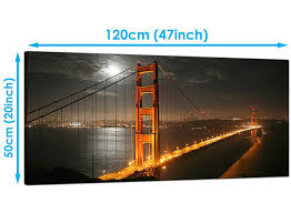 dining room art prints black cheap canvas prints of night time san francisco for your dining room