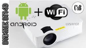 Android проектор c Wi-Fi <b>Byintek</b> BT140 от производителя (c ...
