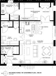 typical apartment floor office layout software free
