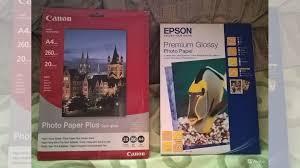 <b>Фотобумага</b> А4 <b>Canon SG</b>-<b>201</b> и Epson Premium Glossy купить в ...