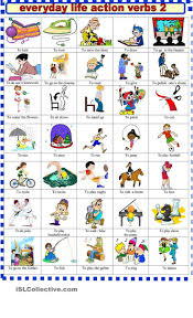 best images about action verbs student centered everyday life action verbs 2