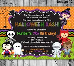 halloween birthday party invitations hollowwoodmusic com halloween birthday party invitations as a result of a fair invitation templates printable for your good looking birthday 4