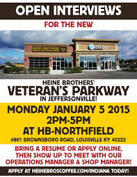 events heine brothers coffee open interviews veteran s