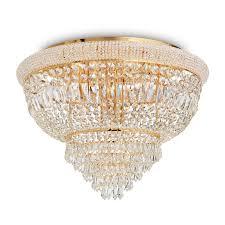 Потолочная <b>люстра Ideal Lux Dubai</b> PL24 Ottone — купить в ...