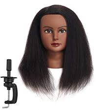 Traininghead 100% Real Hair Female Mannequin <b>Head Training</b>