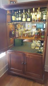 set cabinet full mini summer: diy converted a tv hutch into a lit up liquor cabinet check out the full project dont forget to like comment and share