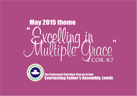 theme excelling in multiple grace rccg everlasting post