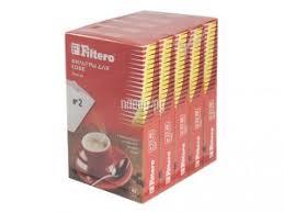 Купить <b>Фильтр</b>-<b>пакеты Filtero Premium</b> №2 200шт по низкой цене ...