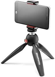 Manfrotto MKPIXICLAMP-BK, <b>Mini Tripod</b> with <b>Universal</b>: Amazon.co ...