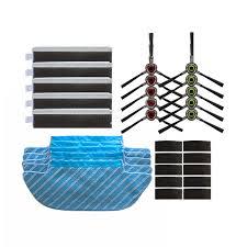 <b>Mop Cloth</b>+<b>Filter</b>+<b>Brush</b>+<b>Sponges</b>+<b>Magic Paste For</b> Ecovacs ...