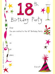 18th Birthday Party Invitations Templates | AFFOFFICE.COM 18th Birthday Party Invitations Templates You Might Need To Make Graceful Birthday Invitation 4