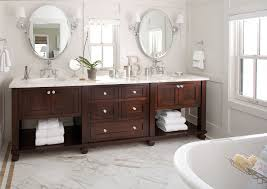 arts crafts bathroom vanity:  inch bathroom vanity bathroom traditional with clawfoot tub dark stained