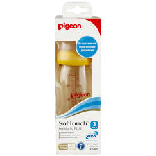 <b>Pigeon Бутылочка</b> для кормления Перистальтик Плюс 240мл ...