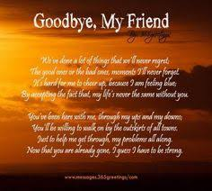 Goodbye My Friend on Pinterest | Friendship Memory Quotes ...
