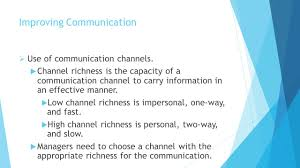 chapter communication interpersonal skills improving 5 management fundamentals