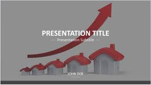 real estate powerpoint template 7300 real estate powerpoint by james sager