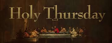 Image result for holy thursday