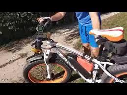 <b>RichBit</b> rower elektryczny, ebike 1000W, riding test after 1600 km ...