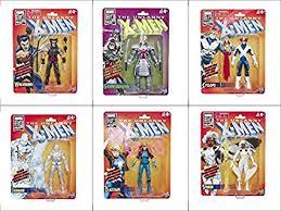 X Men Retro Marvel Legends 6-Inch Action Figures ... - Amazon.com