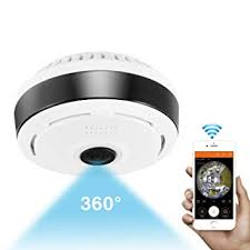 360 Degree Panoramic Camera Wifi Indoor IP ... - Amazon.com