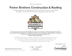 awards recognition parker brothers roofing if you would like to have a estimate for roofing guttering siding and or windows please fill out the form on the left or call us at 405 741 6252