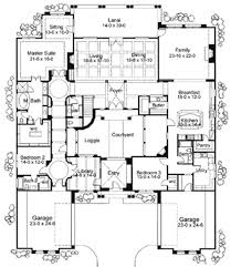 plan 16826wg exciting courtyard mediterranean home plan sitting Coastal Ranch House Plans plan 16826wg exciting courtyard mediterranean home plan coastal ranch home plans