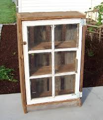 Small Wood Cabinet With Doors Shabby Natural Teak Wood Small Cabinet With Clear Glass Door Using