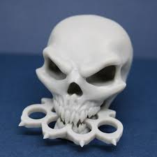 Download 3D <b>printing</b> files <b>Five Finger Death</b> Punch Skull ・ Cults