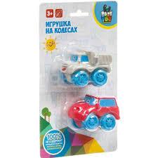 <b>Игрушка детская</b> Bondibon Набор машинок на колесах ВВ3424 в ...