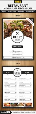 17 best ideas about flyer wright flyer men s restaurant menu flyer psd template