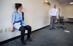 fitness expert rick discipio talks wburs clint cavanaugh through a wall slide robin lubbock band office cubicle