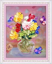 35*<b>42 см</b> 3D <b>ваза</b> для цветов, Набор для вышивки лентами ...