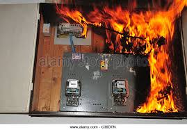 fuse box household stock photos fuse box household stock images a fire broke out in a household electrical fuse box flames consumed the board photographed