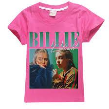 Wazonton Billie Eilish Fans Short T-Shirt Summer ... - Amazon.com