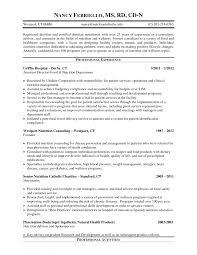 clinical dietitian resume clinical dietitian resume job cv cover registered dietitian resume