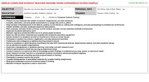 computer science teacher resumejpg image format   computer science teacher resume