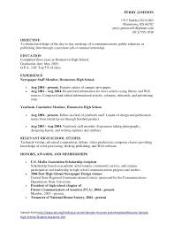 example of a high school student resume high school student resume sample student resume high school